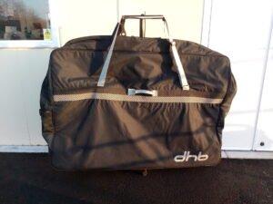 £60 DHB padded bike bag @ Watford