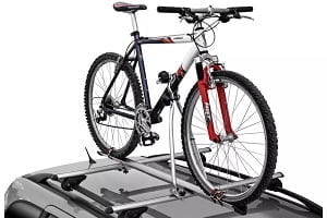 Halfords single bike roof mounted carrier.